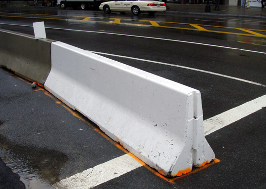 Concrete barrier posts bad idea doityourself